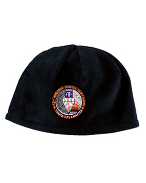 Tampa Chapter Embroidered Fleece Beanie