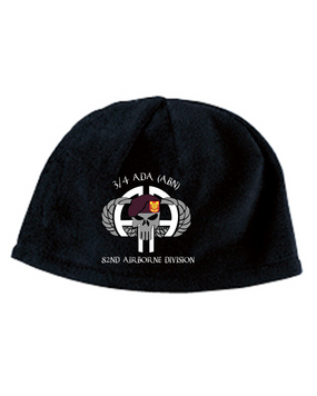3/4 ADA Punisher Embroidered Fleece Beanie
