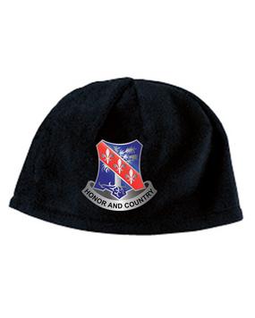 327th Infantry Regiment Crest Embroidered Fleece Beanie