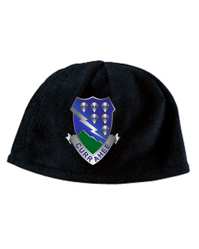 506th Parachute Infantry Regiment Crest Embroidered Fleece Beanie
