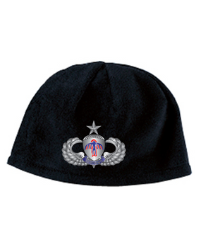 501st PIR Senior Embroidered Fleece Beanie