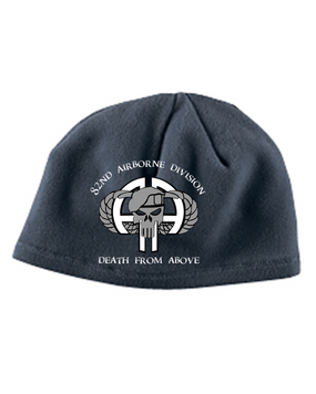 82nd Punisher Embroidered Fleece Beanie