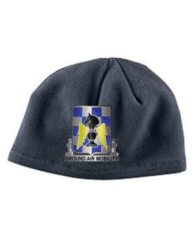 "82nd Aviation ""Crest""  Embroidered Fleece Beanie"