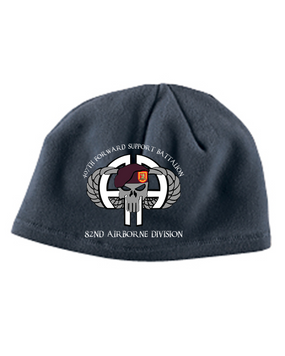 "407th ""Punisher"" Embroidered Fleece Beanie"