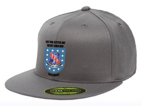 "1-327th Infantry Regiment ""Crest Flash""  Embroidered Flexfit Baseball Cap"
