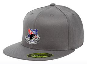 "327th Infantry Regiment ""Skull ""  Embroidered Flexfit Baseball Cap"