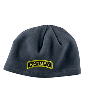 Ranger Embroidered Fleece Beanie