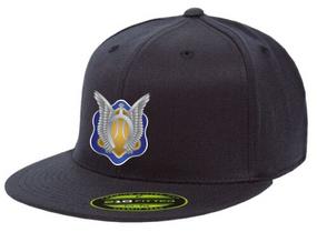 "1/17th Cavalry Regiment (Airborne) ""Crest"" Embroidered Flexfit Baseball Cap"