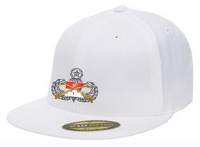 "1/17th Cavalry Regiment (Airborne) ""Master"" Embroidered Flexfit Baseball Cap"