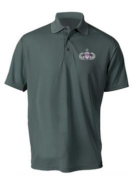 "501st PIR  ""Senior"" Embroidered Moisture Wick Polo Shirt"