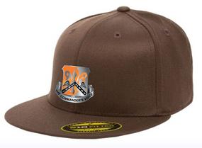 """82nd Signal """"Crest""""  Embroidered Flexfit Baseball Cap"""