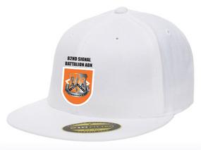 "82nd Signal ""Crest/Flash""  Embroidered Flexfit Baseball Cap"