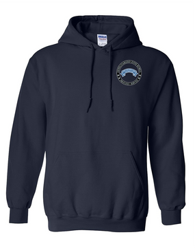 Joint Security Area (JSA) Embroidered Hooded Sweatshirt-Proud