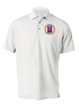 """82nd Airborne Division """"100th Anniversary""""  Embroidered Moisture Wick Shirt -(OS)"""