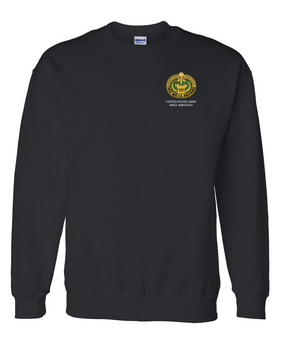 US Army Drill Sergeant Badge Embroidered Sweatshirt (OS)
