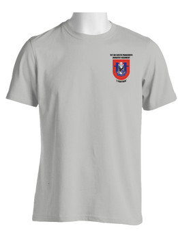 """1-505th Parachute Infantry Battalion """"Crest & Flash"""" Cotton Shirt (OS)"""