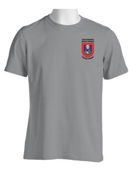 """505th Parachute Infantry Regiment  """"Crest & Flash""""  Cotton Shirt (OS)"""