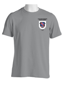 "1-508th Parachute Infantry Battalion  ""Crest & Flash"" Cotton Shirt (OS)"