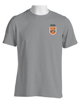 "82nd Signal Battalion  ""Flash & Crest"" Cotton Shirt (OS)"