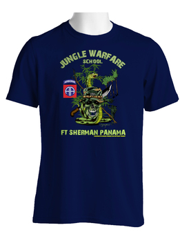 82nd Airborne Division Jungle Master Cotton T-Shirt