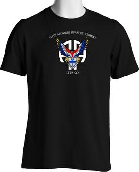 325th Airborne Infantry Regiment Cotton T-Shirt (OS)