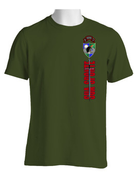 2/75th Sword of St. Michael (Original Scroll) Cotton Shirt (OS)