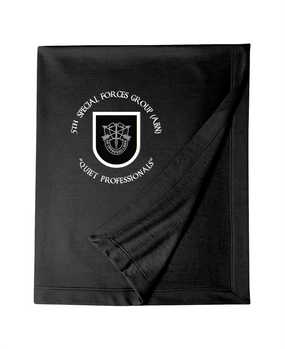 5th Special Forces Group Embroidered Dryblend Stadium Blanket (OS)