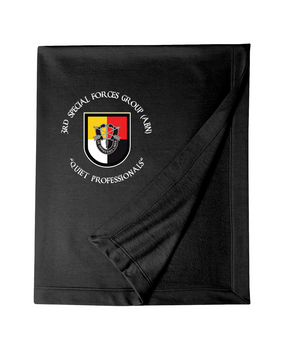 3rd Special Forces Group Embroidered Dryblend Stadium Blanket (OS)