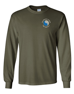 29th Infantry Division Long-Sleeve Cotton T-Shirt (OS)