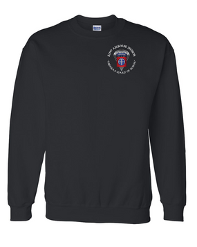82nd Airborne Division Embroidered Sweatshirt (OS)
