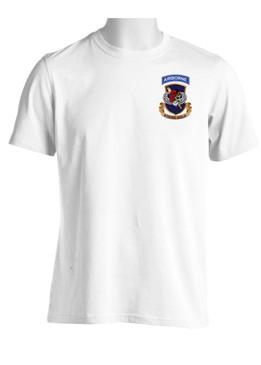 """504th PIR Parachute Infantry Regiment """"Skull & Beret"""" Moisture Wick Shirt (OS)"""