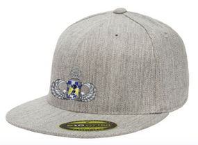 "82nd Aviation ""Master""  Embroidered Flexfit Baseball Cap"