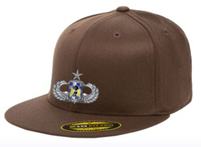 "82nd Aviation ""Senior""  Embroidered Flexfit Baseball Cap"