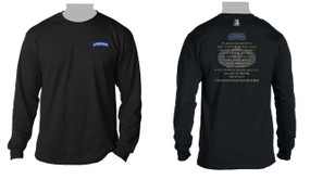 US Army Paratrooper Long-sleeve moisture wick T-Shirt.