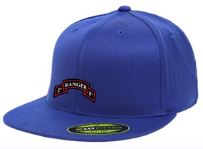 2-75th Embroidered Flexfit Baseball Cap