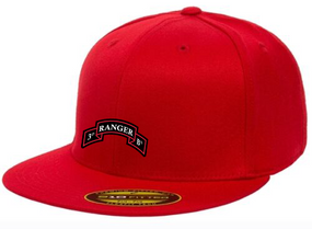 3-75th Embroidered Flexfit Baseball Cap