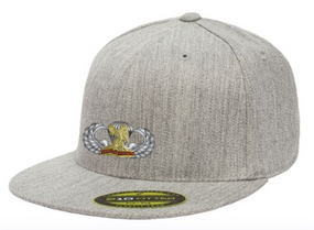 "407th ""Basic"" Embroidered Flexfit Baseball Cap"