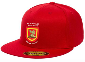 "407th BSB ""Crest Flash"" Embroidered Flexfit Baseball Cap"