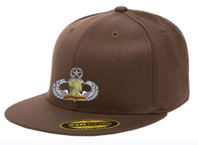 "407th ""Master"" Embroidered Flexfit Baseball Cap"