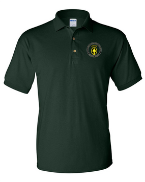 US Special Operations Command Embroidered Cotton Polo Shirt-15548