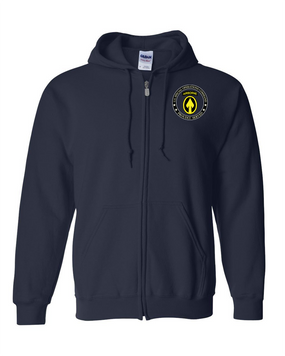 US Special Operations Command Embroidered Hooded Sweatshirt with Zipper-15563