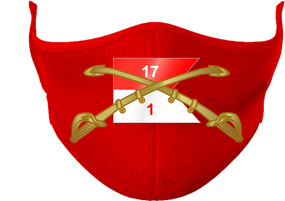 1/17th Cavalry Regiment (Airborne) Mask