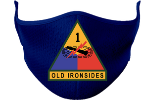 1st Armored Division Mask