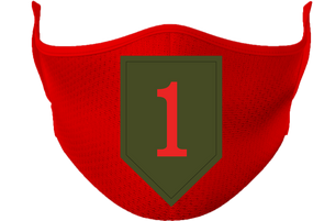1st Infantry Division Mask