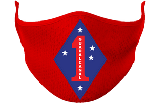 1st Marine Division Mask