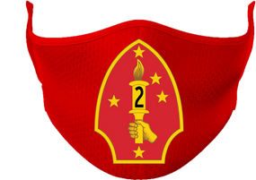 2nd Marine Division Mask