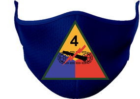 4th Armored Division Mask