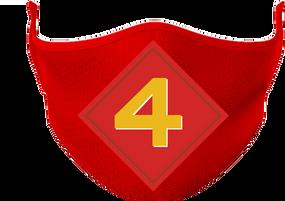 4th Marine Division Mask