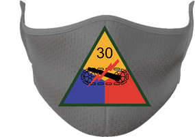 30th Armored Division Mask