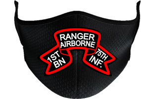 1-75th Ranger Battalion (Original) Mask